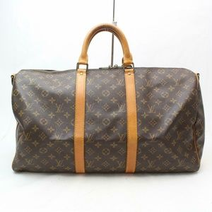 Auth Louis Vuitton Keepall Bandouliere #1767L28
